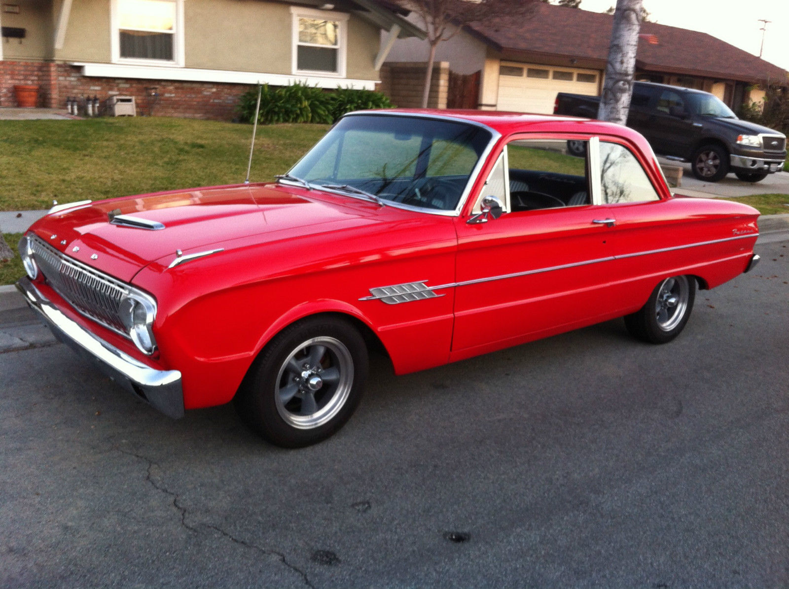 "1962 Ford Falcon Futura Really Clean Disc Brakes 8"" Newer Paint New Upholstery - Classic Ford"