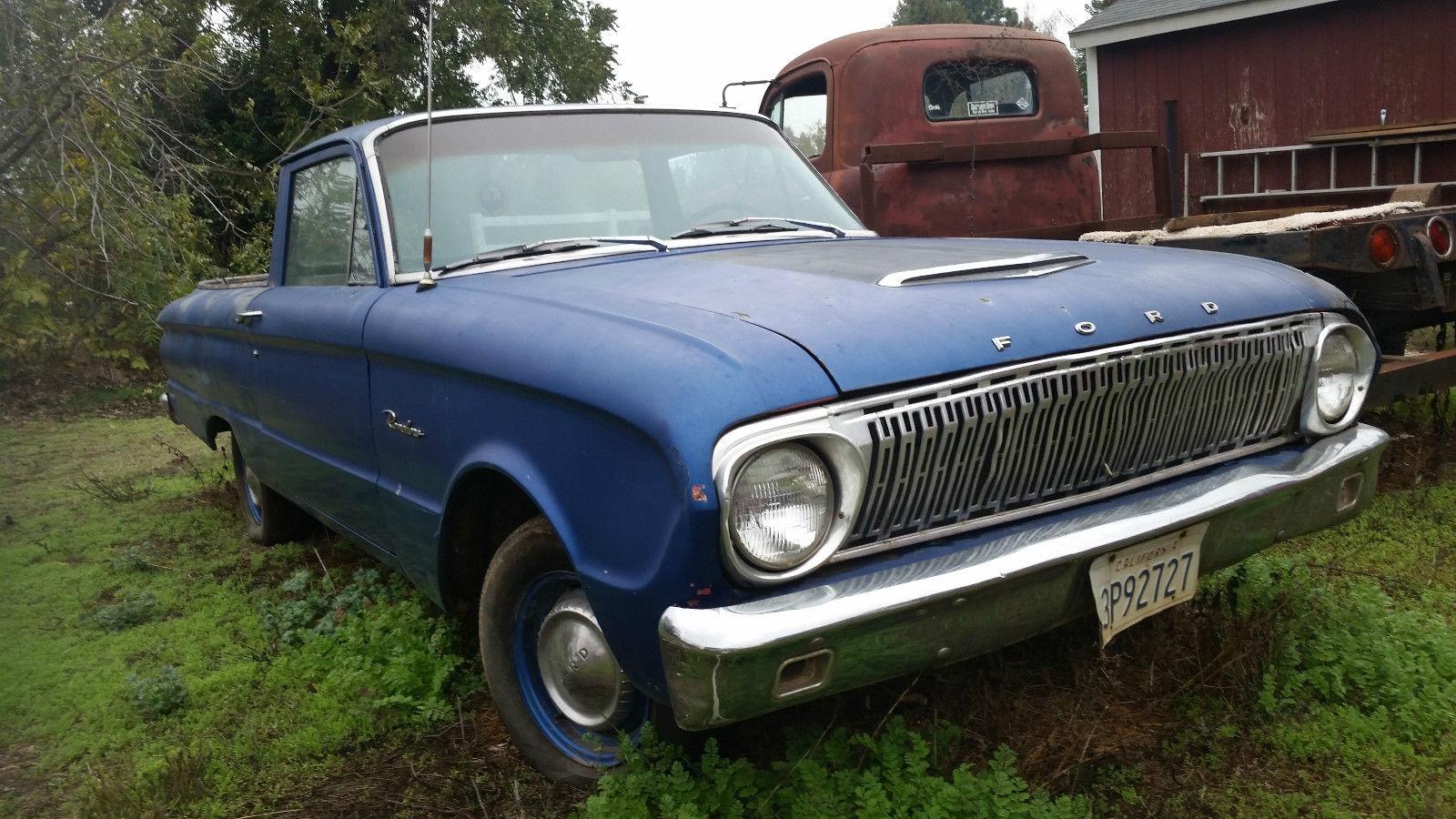 1962 Ford Falcon Ranchero Hot Rat Srteet Drag Car Classic