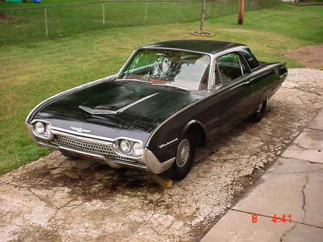 1962 Ford Thunderbird 2 Door Hardtop M Code 390 Tri Power Classic Ford Thunderbird 1962 For