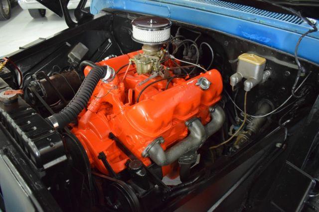 1962 Gmc Shortbed 1000 Series Factory Big Block V6 305