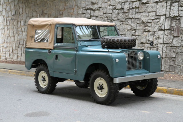 1962 land rover series ii santana classic land rover series ii 1962 for sale. Black Bedroom Furniture Sets. Home Design Ideas