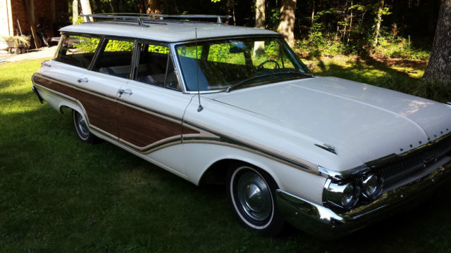 1962 Mercury Colony Park Station Wagon Less Than 70 000