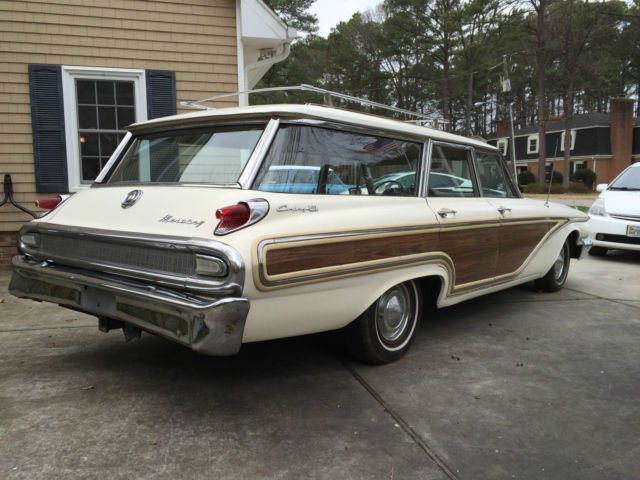 Used Cars Chattanooga >> 1962 Mercury Colony Park station wagon; less than 70,000 original miles; A/C - Classic Mercury ...