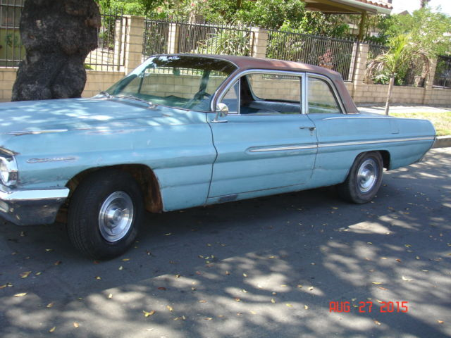 1962 Pontiac Catalina 2 Door Sport Sedan 389 4 Speed 323