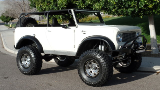 International Scout Rock Crawler : Scout amazing build ls v r arb lockers