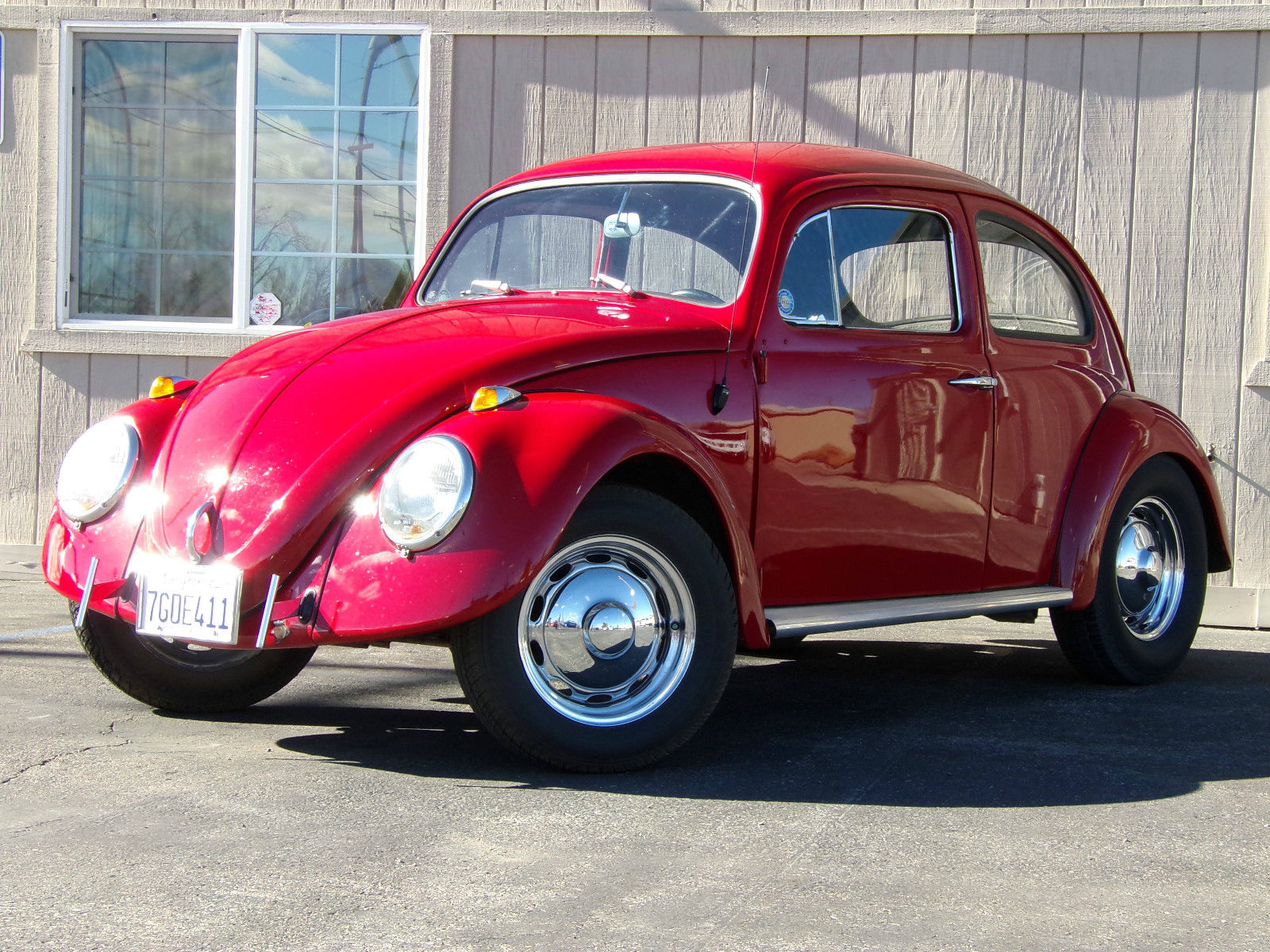 1962 vw beetle classic red classic volkswagen beetle classic 1962 for sale. Black Bedroom Furniture Sets. Home Design Ideas