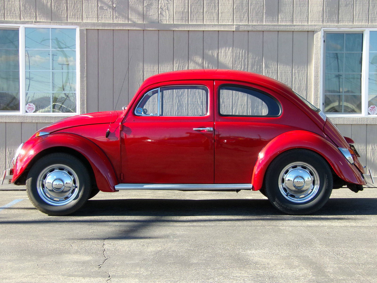 Volkswagen Garden Grove >> 1962 VW Beetle Classic Red - Classic Volkswagen Beetle - Classic 1962 for sale