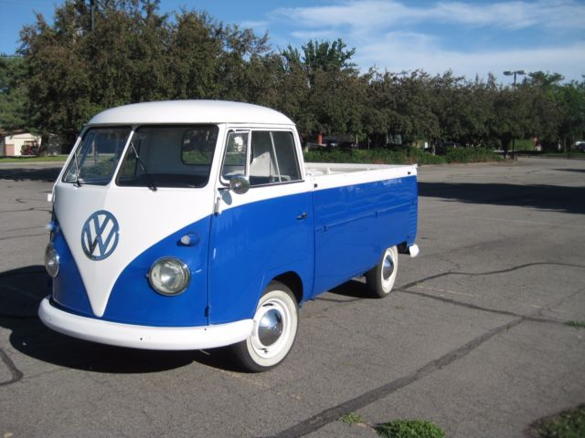1962 Vw Single Cab Pickup Truck Classic Volkswagen Bus Vanagon 1961 For Sale