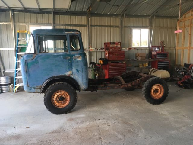 1962 willys jeep fc170 forward control cab over truck classic jeep fc170 1962 for sale. Black Bedroom Furniture Sets. Home Design Ideas