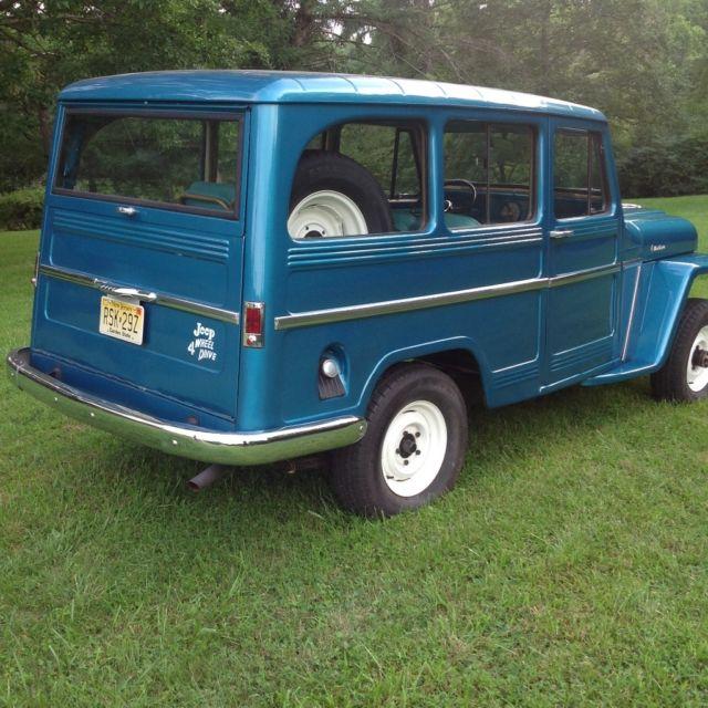 1962 Willys Jeep Wagon Restored