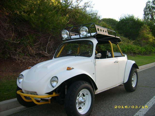 1963 63 Vw Volkswagen Baja Bug Roadster Classic