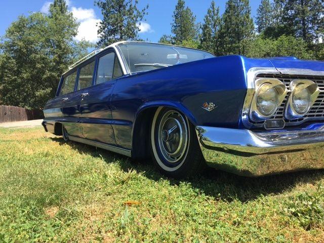 1963 Bel Air Wagon Bagged Cruiser  150  210 1963 For Sale