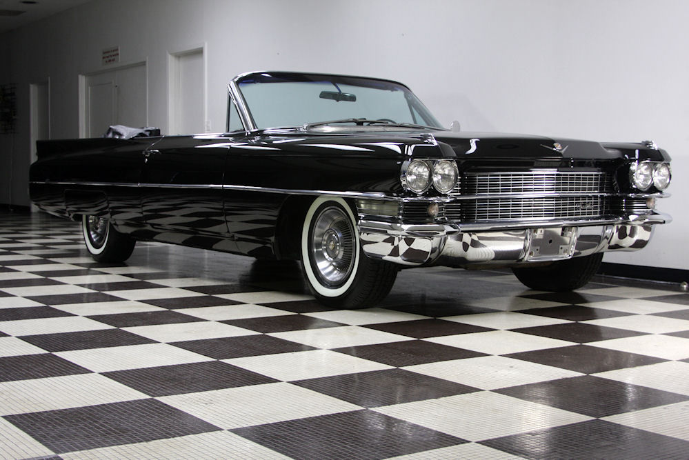1963 Cadillac Convertible Series 62 Restored From Frame