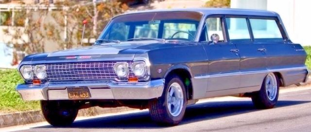 1963 Cheverlot Bel-air Station Wagon  150  210 1963 For Sale
