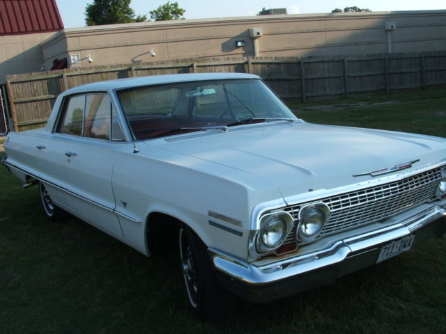 Used Cars For Sale In Oklahoma >> 1963 Chevrolet 4-door Hardtop V8 Automatic - Classic ...