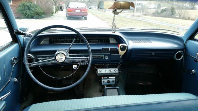 1963 Chevrolet Bel Air Base Sedan 4 Door 4 6l Police Car