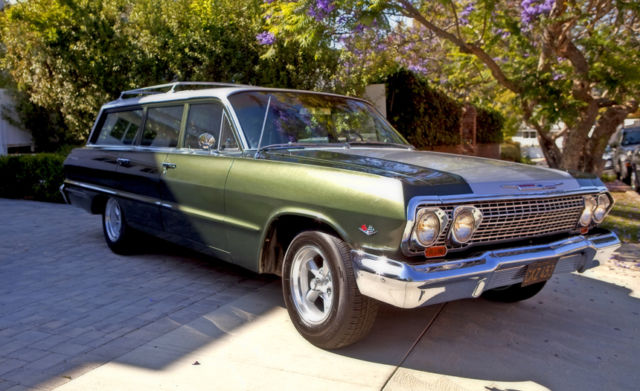 1963 Chevrolet Bel-air Station Wagon  150  210 1963 For Sale