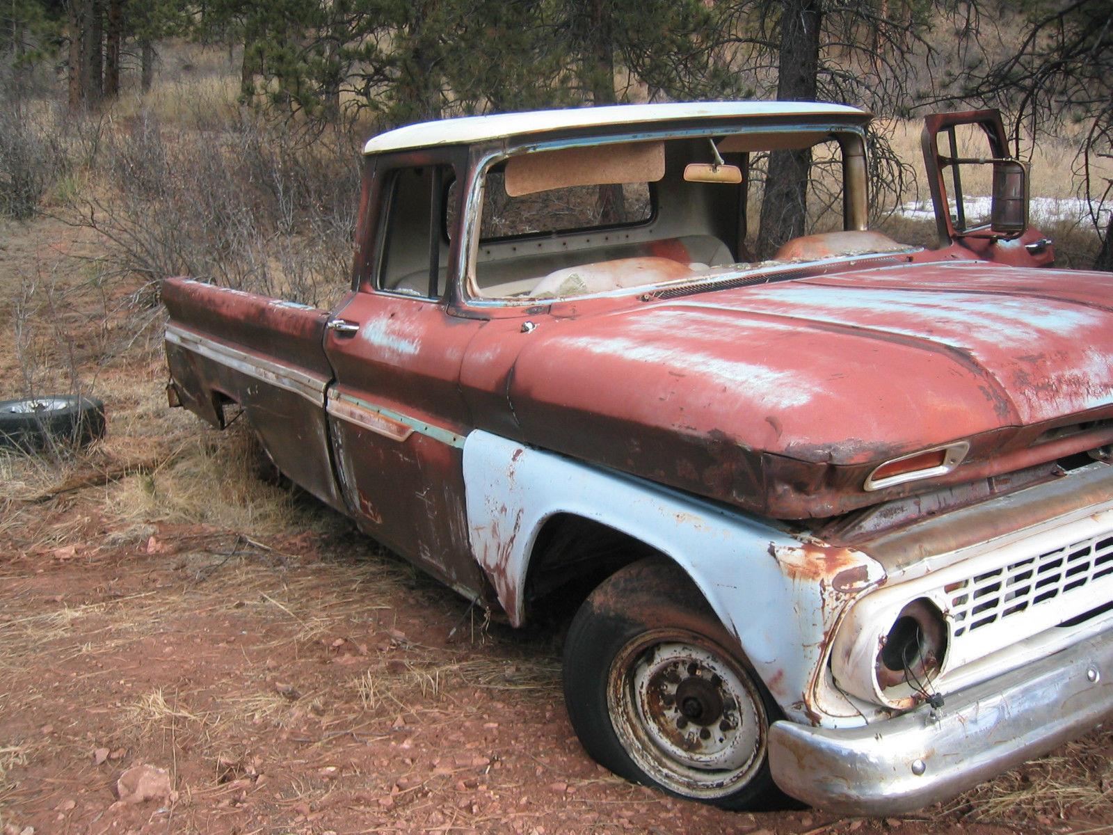 1963 Chevrolet C20 3 4 Ton Pickup For Restoration Classic 1966 Truck C10 12 Pu 2wd