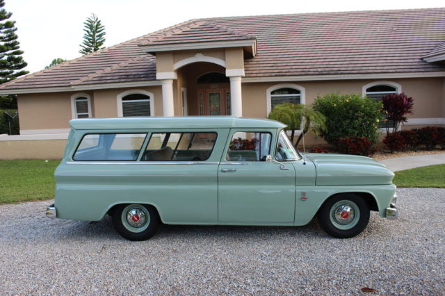 1963 Chevrolet Carryall 2 Door Suburban High Quality