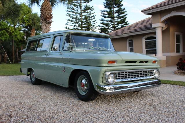 1963 Chevrolet Carryall 2 Door Suburban High Quality