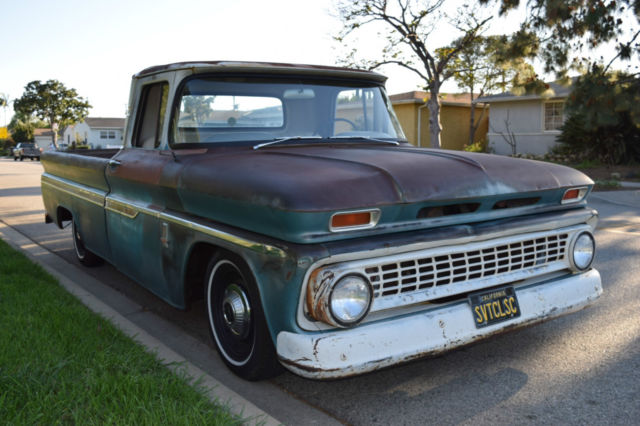 1963 Chevrolet Chevy C10 Custom Fleet Side Pick Up Truck