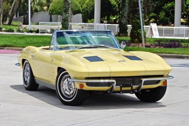 1963 Chevrolet Corvette Stingray Convertible Manual 4