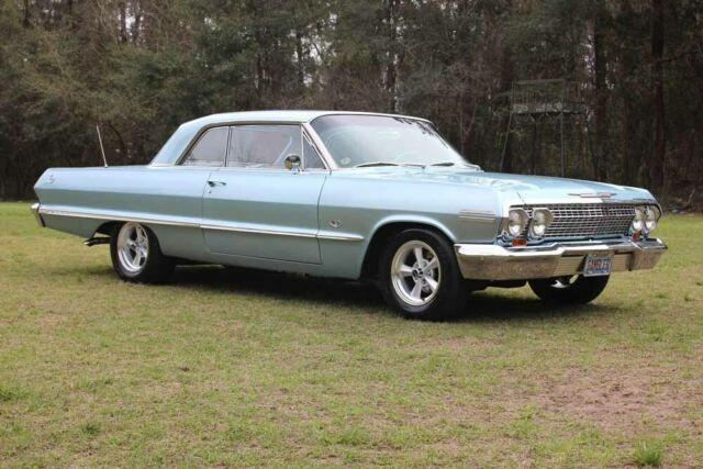 1963 Chevrolet Impala Rare Bench Seat Car Not A Ss