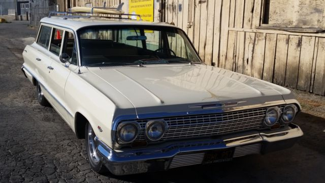 1963 Chevy Bel Air 9 Passenger Wagon  150  210 1963 For Sale
