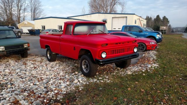 1963 Chevy C-20 4x4 Pickup Truck 350 Crate Motor from Out West--Hasn