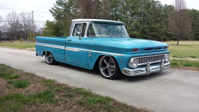 1963 Chevy C10 Truck Bagged Classic Chevrolet C 10 1963