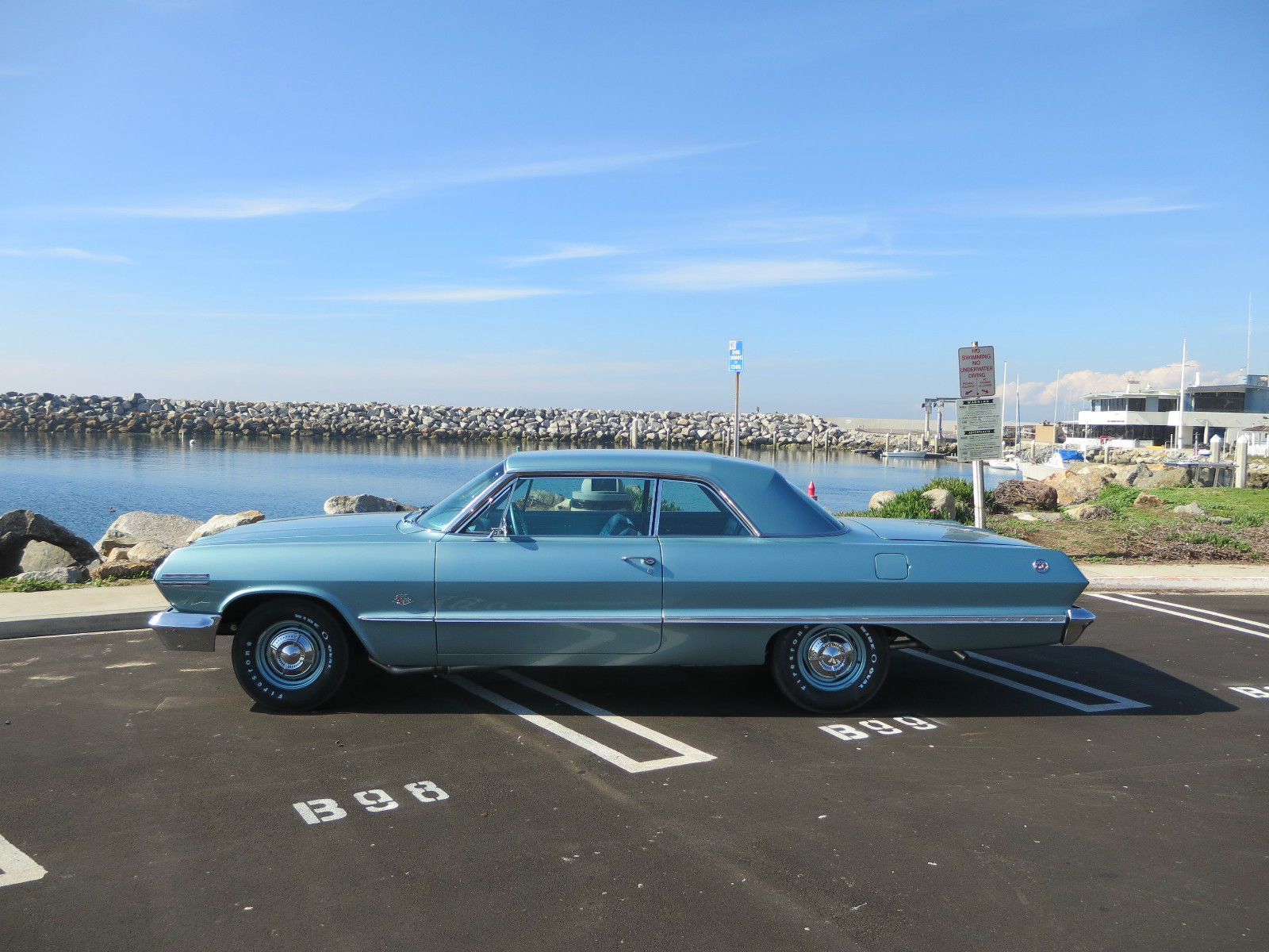1963 Chevy Impala 409 Ss S Matching Frame Off Nut And