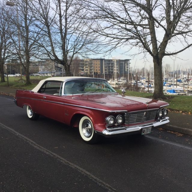 1963 CHRYSLER IMPERIAL CROWN CONVERTIBLE ONE OF 531 BUILT