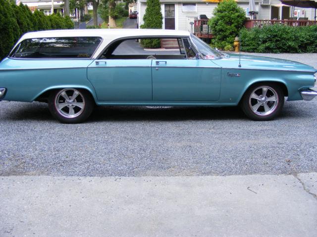 "Wrecked Cars For Sale >> 1963 Chrysler Newport New Yorker ""pillarless"" station wagon.. BARN FIND. - Classic Chrysler ..."
