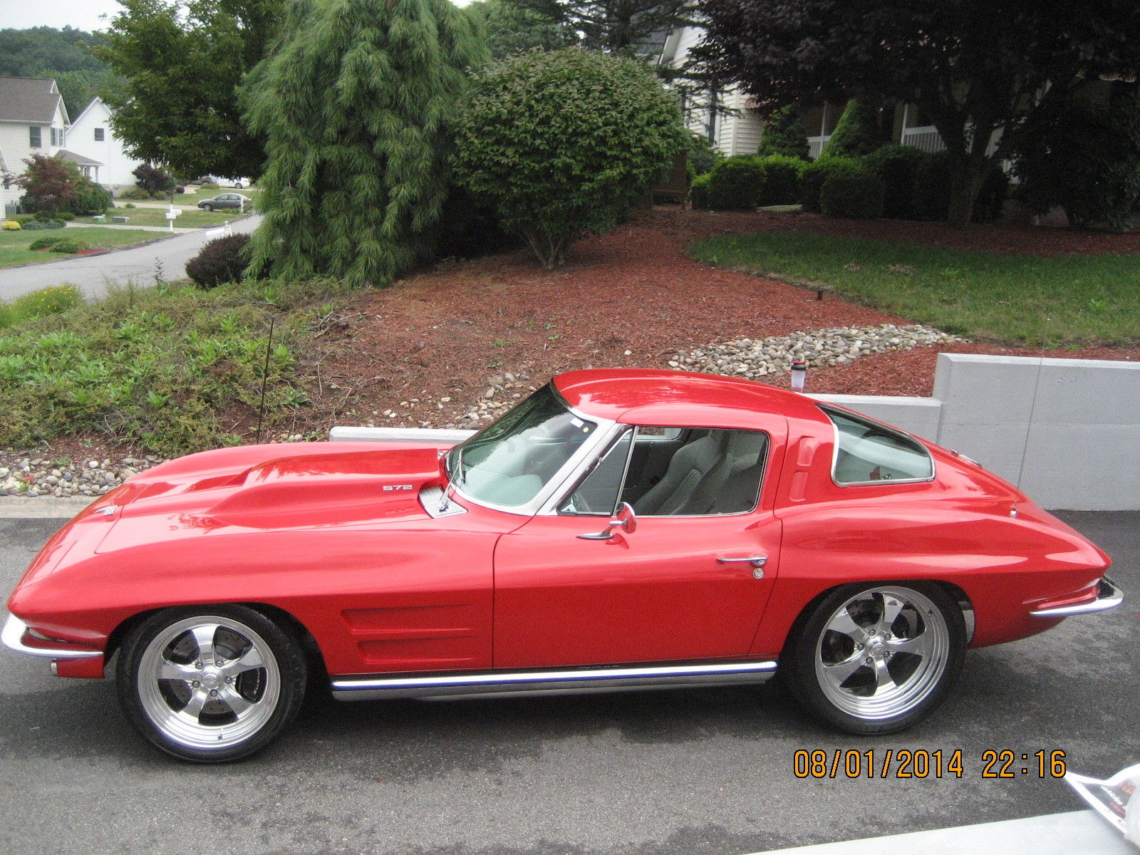 1963 Corvette Split Window Coupe Resto Mod One Of A Kind