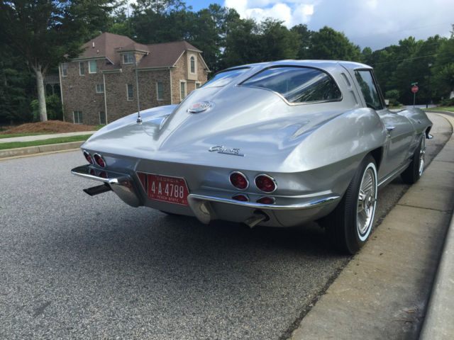 1963 corvette split window coupe restomod classic for 1963 chevy corvette split window for sale