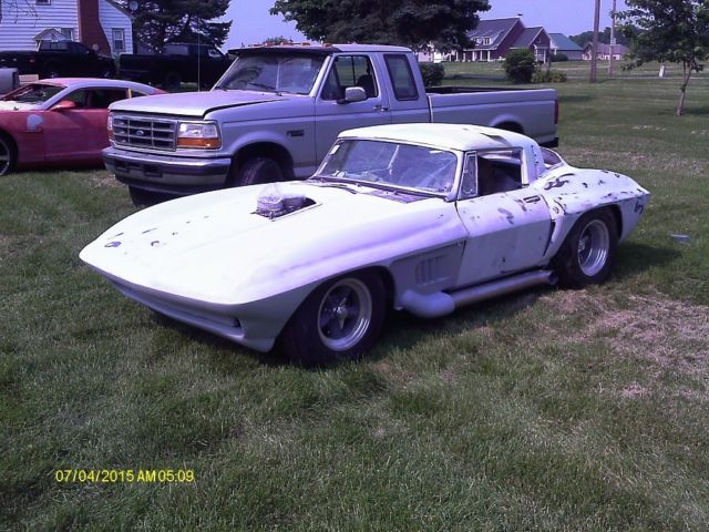 1963 Corvette split window replica / project 4 wheel disc