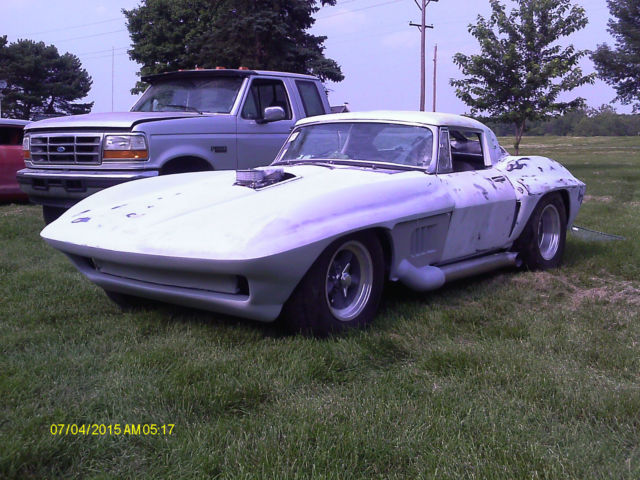 1963 corvette split window replica project 4 wheel disc