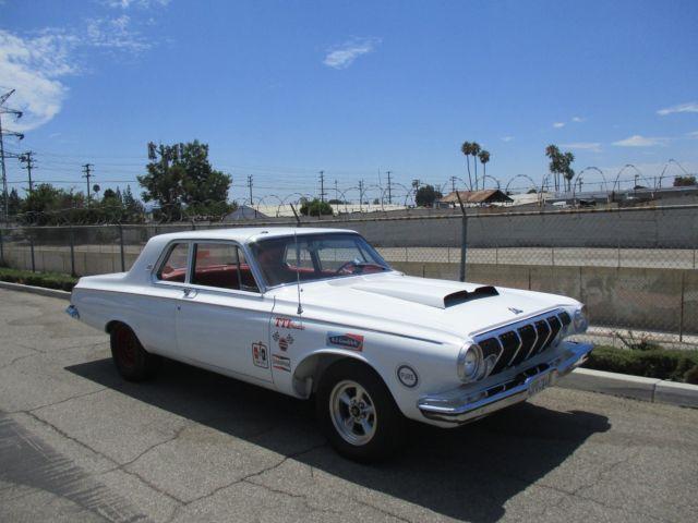 1963 Dodge 330 2 Dr Rotisserie Resto Aluminum Hemi 2 Four