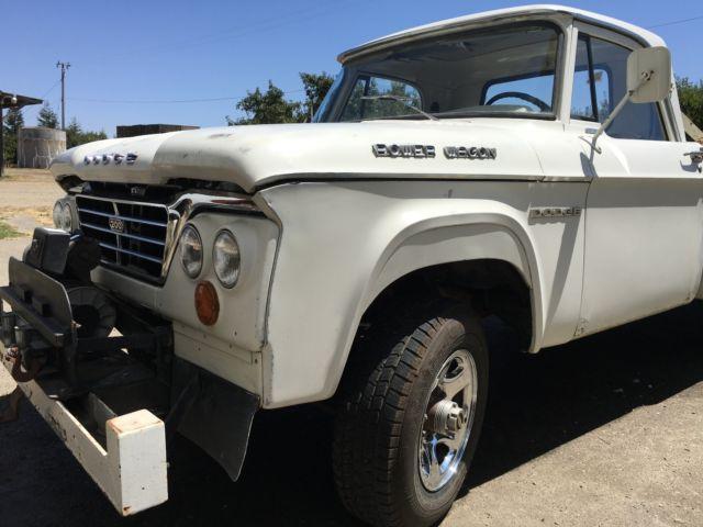 1963 Dodge Power Wagon Truck W200 - Classic Dodge Power Wagon 1963 for sale