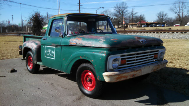 1963 f100 shortbed shop truck low low miles low low. Black Bedroom Furniture Sets. Home Design Ideas
