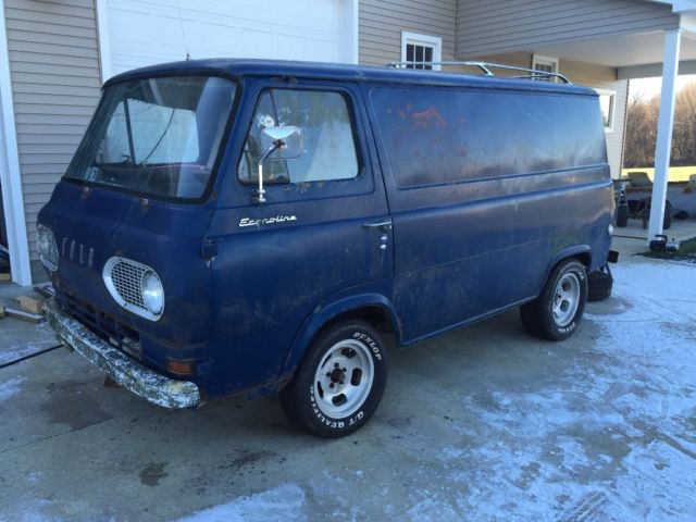 1963 Ford Econoline Van Project E100 Classic Ford E