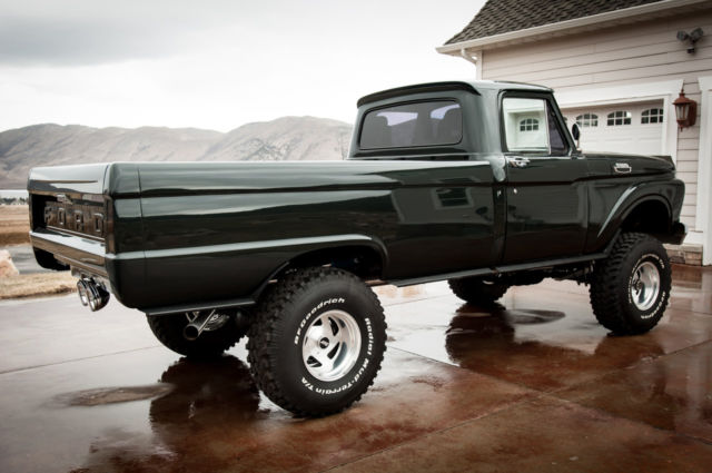 1963 Ford F100 Highboy K Frame Off Restore 450hp 428