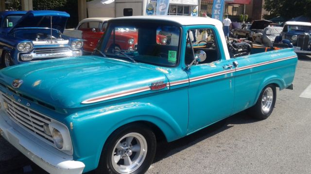 1963 ford f100 shortbed 4 6v8 new drop axel rims tires. Black Bedroom Furniture Sets. Home Design Ideas