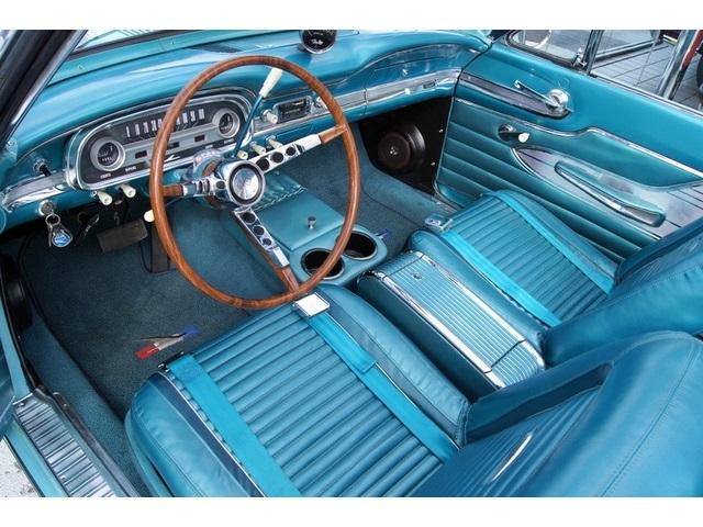 1963 Ford Falcon Convertible 260 V8, Peacock Blue, Bucket