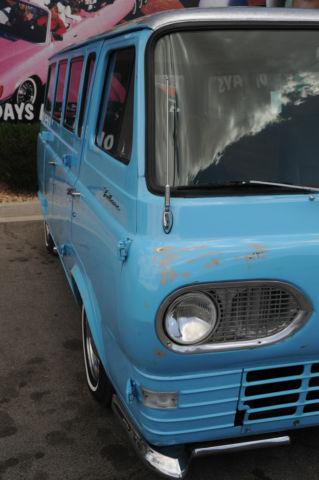 1963 Ford Falcon Econoline Custom Window Van New Paint
