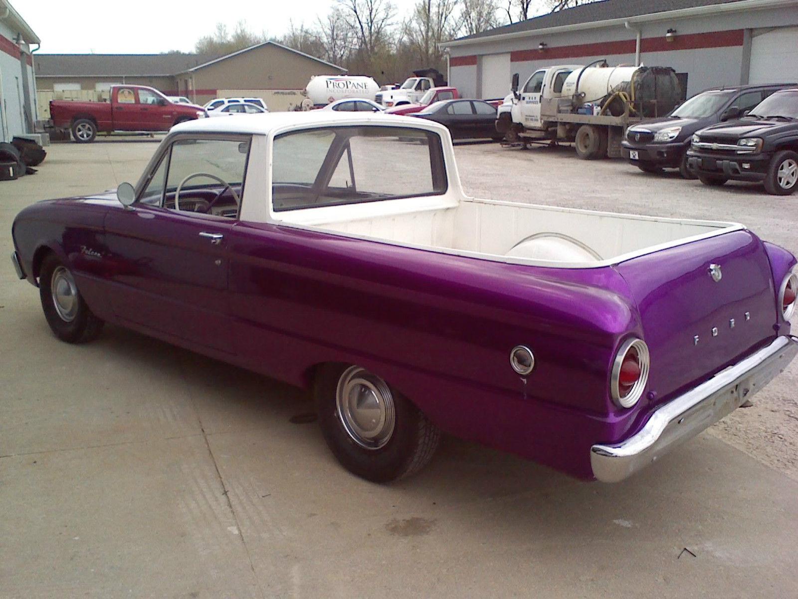 1963 Ford Falcon Ranchero, Cool car - Classic Ford Falcon