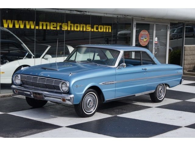 18762 1963 Ford Falcon Sprint 4 Speed Manual 2 Door Coupe