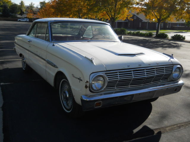 407745 1963 Ford Falcon Sprint V8 A True Barn Find Very Solid And Restorable