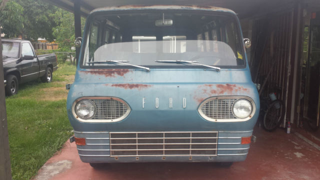 1963 FORD FALCON VAN (ECONOLINE) - Classic Ford Other Pickups 1963
