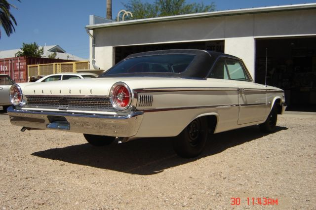 Cars For Sale Louisville Ky >> 1963 ½ Ford Galaxie 500, 2 DR, HT, fastback, R-code, 427 dual 4-barrels, 425 HP - Classic Ford ...